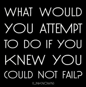 can't fail